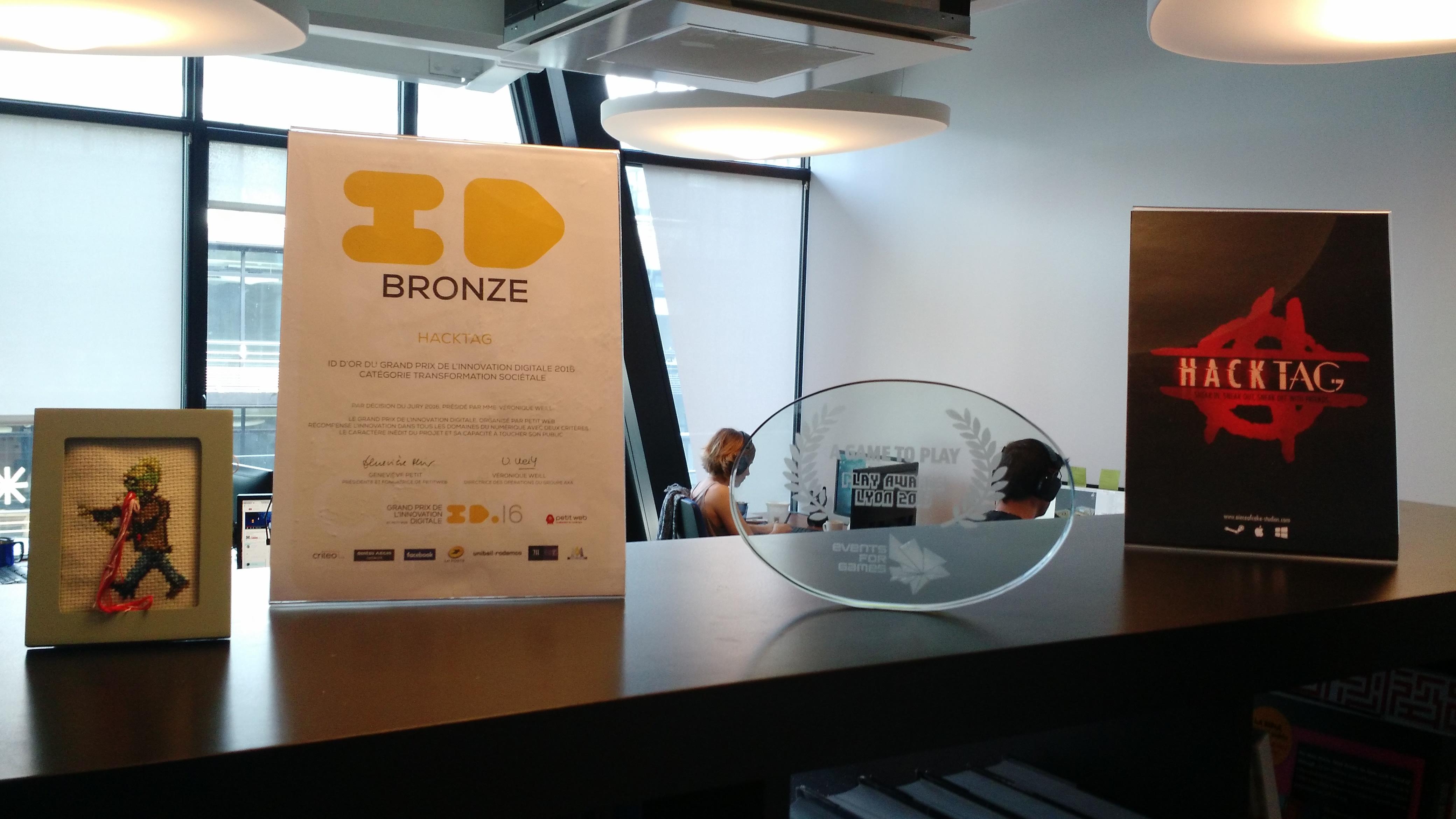 Indie dev Piece of Cake studios won Bronze award at ID16.